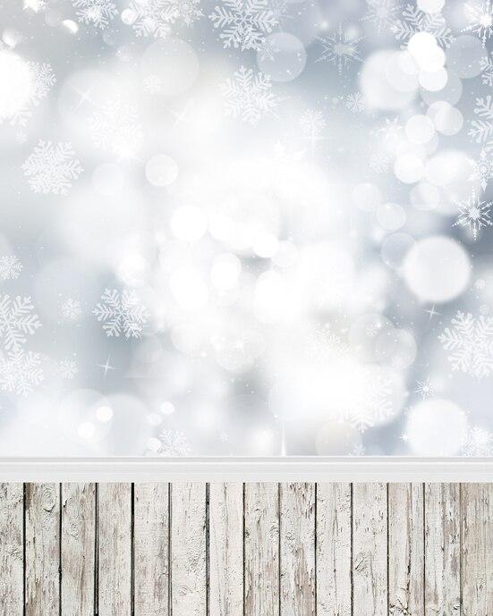 Christmas vinyl cloth fantasy snowflake bokeh Xmas photography backdrops for newborn children photo studio portrait backgrounds new arrival 5 8ft vinyl christmas tree background 3723 children photography studio backgrounds newborn photography backdrops
