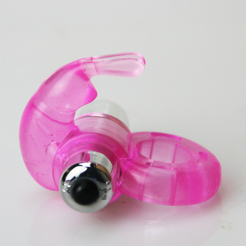 Pink color rabbit shape Powerful AV Mini <font><b>G</b></font>-Spot Vibrator adult <font><b>sex</b></font> <font><b>toys</b></font> for women image