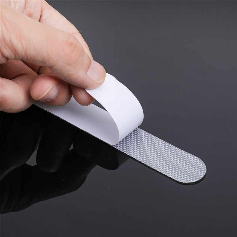 12 Pcs Kamar Mandi Bak Mandi Tangga Anti Slip Tread Jelas Tape Tahan Air Kuat Lantai Keselamatan Mat Grip Stiker Bordiran Bak Mandi Air Panas dekorasi