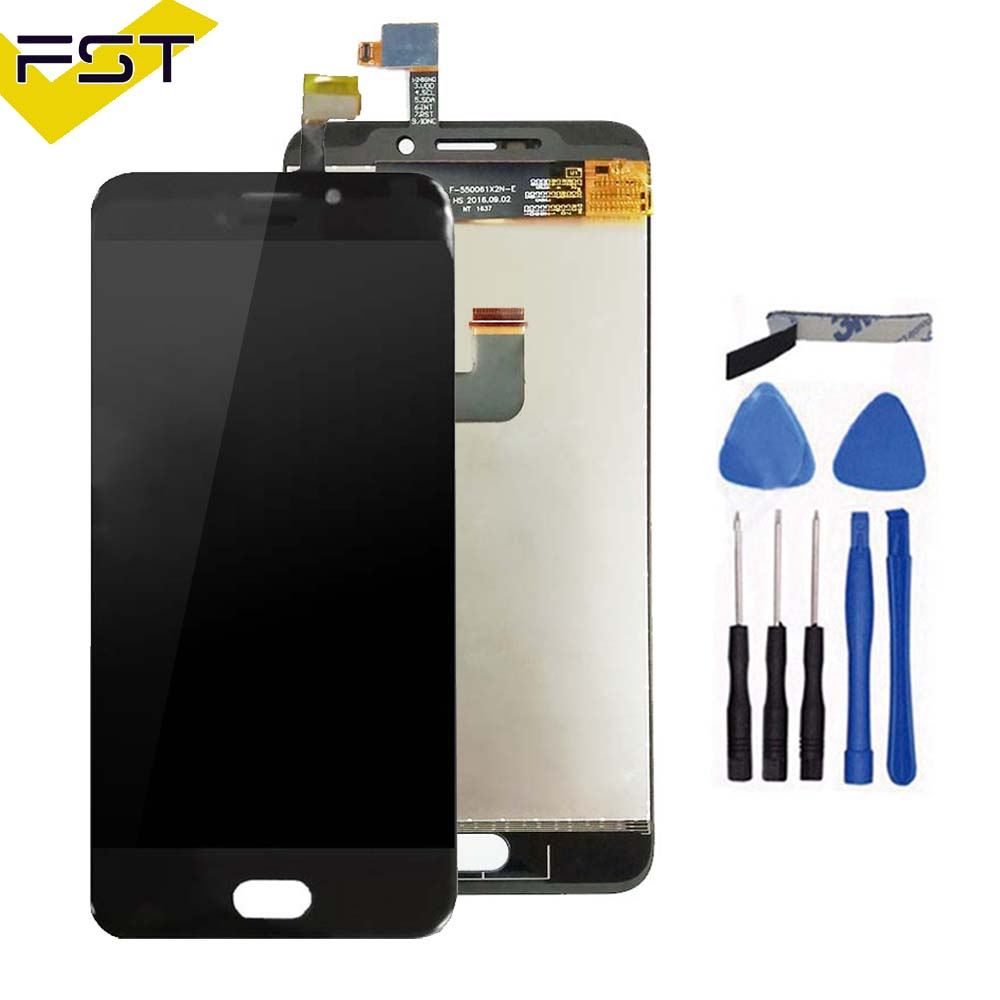LCD Display+Touch Screen 1920x1080 For UMI Plus / plus E Digitizer Assembly Repair Replacement+Tools+Adhesive
