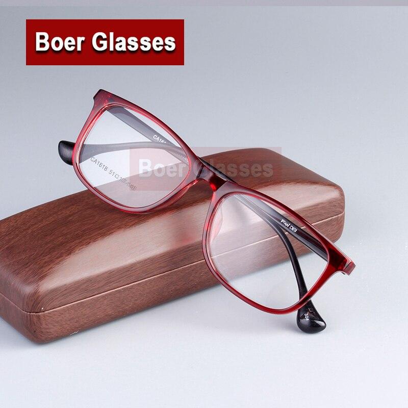 Новый весь рим очки женские кадр TR90 очки рецепт овальный очки оптические RXable 1618 размер 54 - 17 - 140