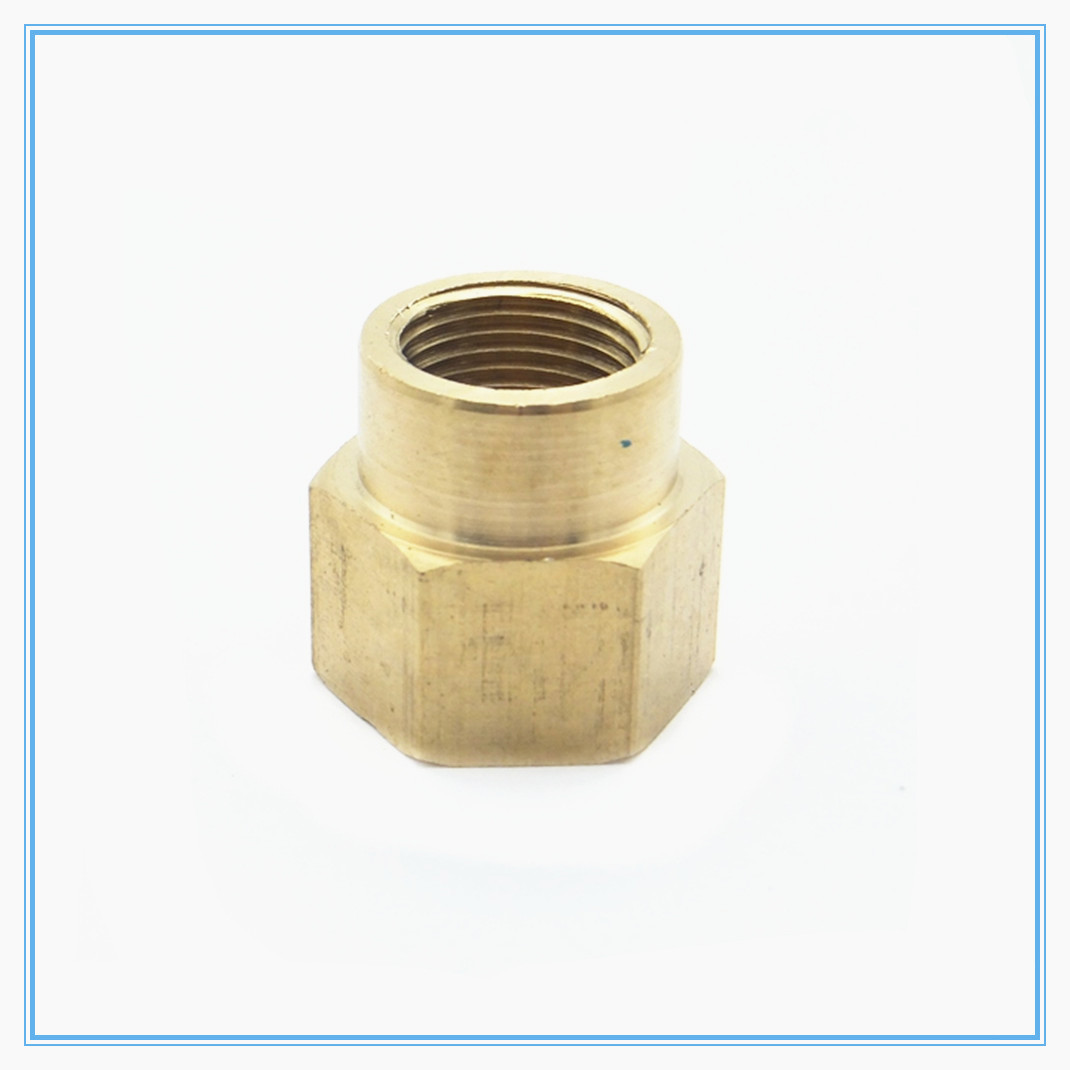 """1//8/""""BSP Female Thread Brass Pipe Fittings Hex Nut Rod Connector Coupling Full Port"""