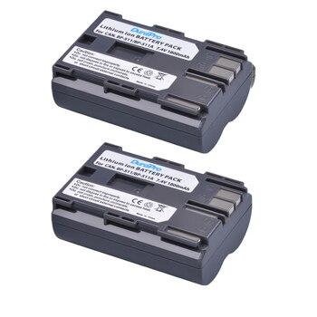 2 יחידות DuraPro 7.4 v 1800 mah מצלמה סוללה BP-511 BP 511 סוללות עבור Canon BP-511 BP-511A BP511 50D 40D 30D D60 D30 5D