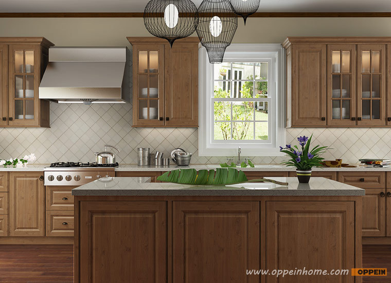 Indonesia Project Modern Wooden Kitchen Cabinets Customized