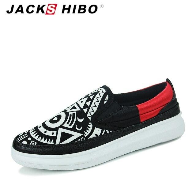 JACKSHIBO 2016 brand mens shoes saled,fashion ordinary man black casual shoes designer,high quality colour slipon loafer shoes