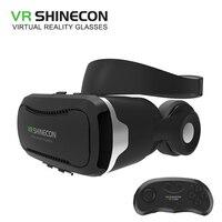 SHINECON VR Box 2 0 4 0 Virtual Reality Goggles Google Cardboard 3D VR Glasses With