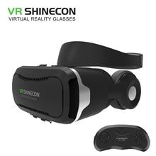 Shinecon 4.0 VR коробка 2.0 виртуальной реальности очки Google картона 3D очки с гарнитурой для 4.5-6.0 дюймов смартфонов