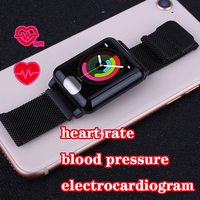 e04 smart band swimming Heart Rate Tracker sports ppg ecg watch wristband pedometer pulsometer fitness bracelet pressure ip67