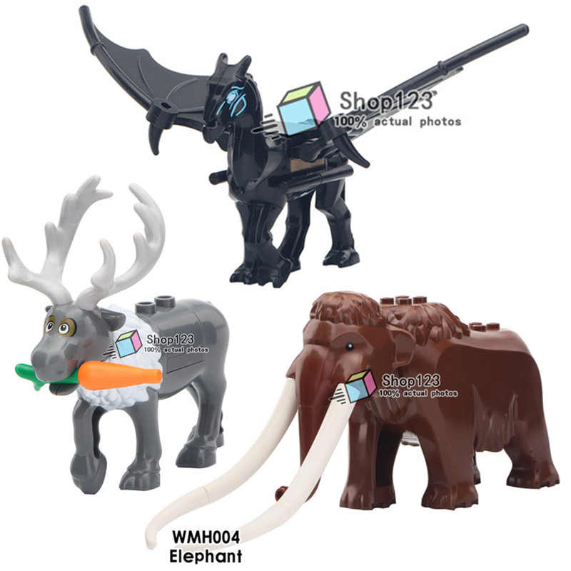 The Pegasus Thestral Legoings Fantastic Beast Horse Wings Magical Creature Animals Legoings Movie Figures Building Blocks Toys