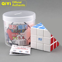 QiYi 3x3x3 Heat Thermal Transfer Print Magic Cube MoFangGe XMD 3x3 Neo Speed Puzzle Fidget Toys For Children