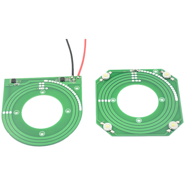 5 шт./лот PCB модуль беспроводного питания, регулируемый модуль беспроводной передачи, чип 5 в 12 В 14 в, большой выход напряжения