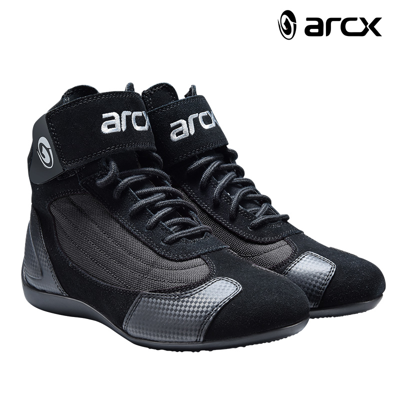 ARCX Motorcycle Boots Moto Riding Boots Genuine Cow Leather Motorbike Biker Chopper Cruiser Touring Ankle Shoes