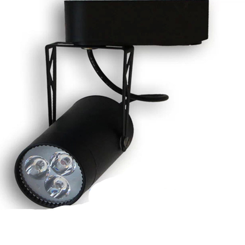 4pcs ! 3 w LED lighting surface track light clothing furniture track light spotspotlight mount for interior decoration