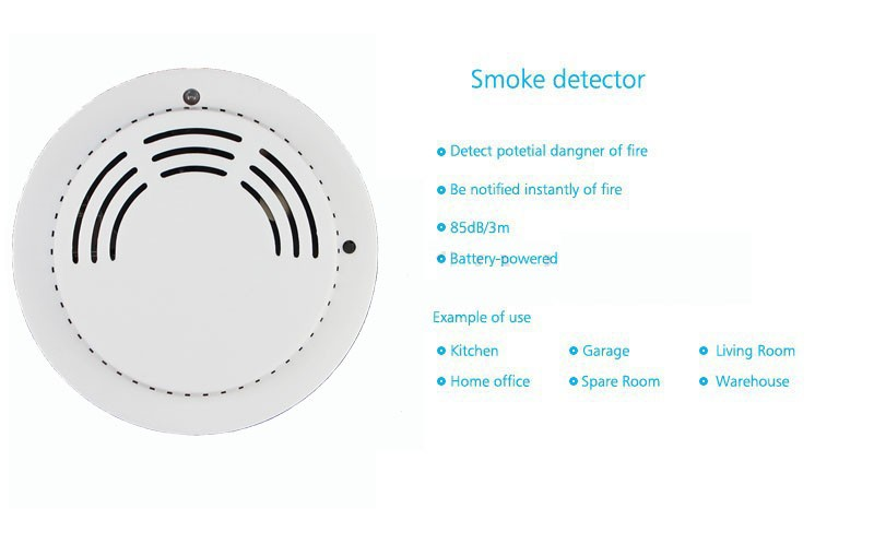 Back To Search Resultssecurity & Protection Steady 5pcs Wireless Heat And Smoke Detector Fire Alarm System Sensor For Home 433mhz 85db Temperature Sensor Wifi Gsm G90b Plus Making Things Convenient For Customers