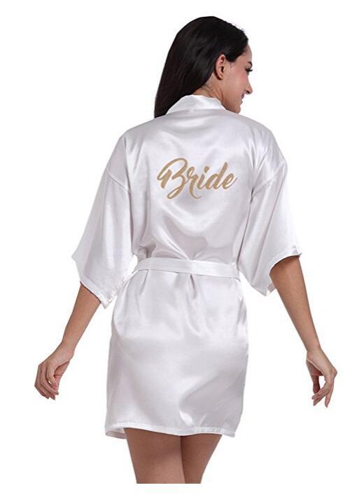 Esküvői készülődős köntös
