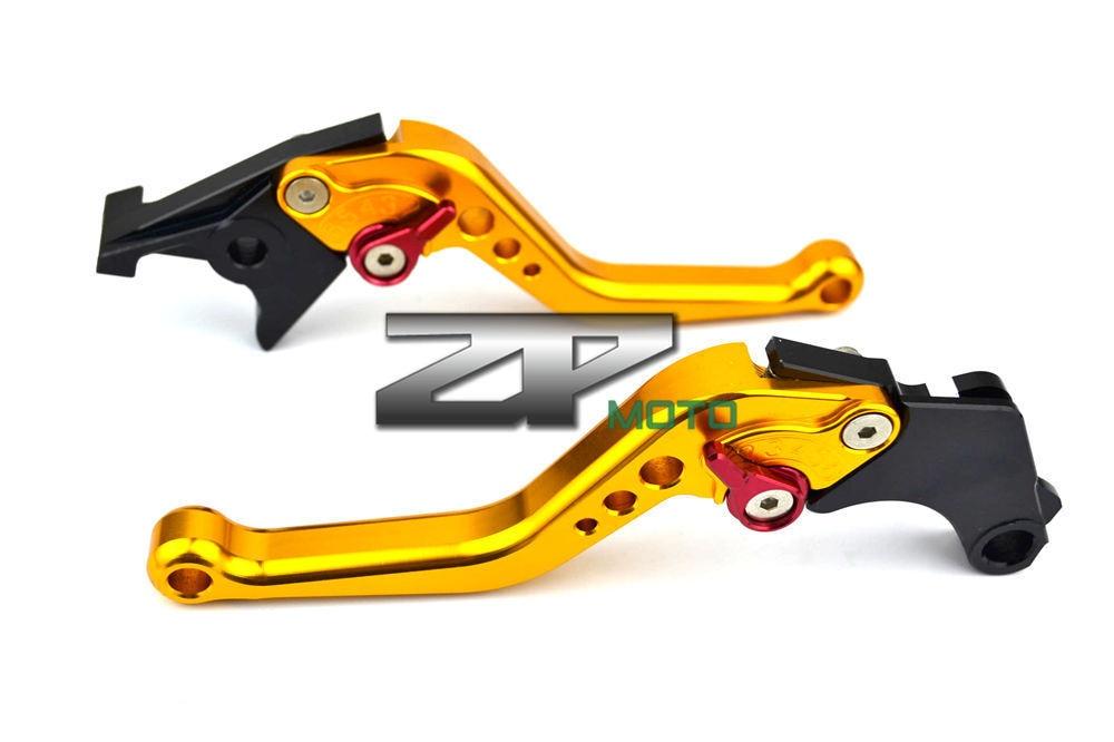Cnc embrayage levier de frein pour pour Kawasaki Z750R 1000 2011 , 2012  moto accessoires(