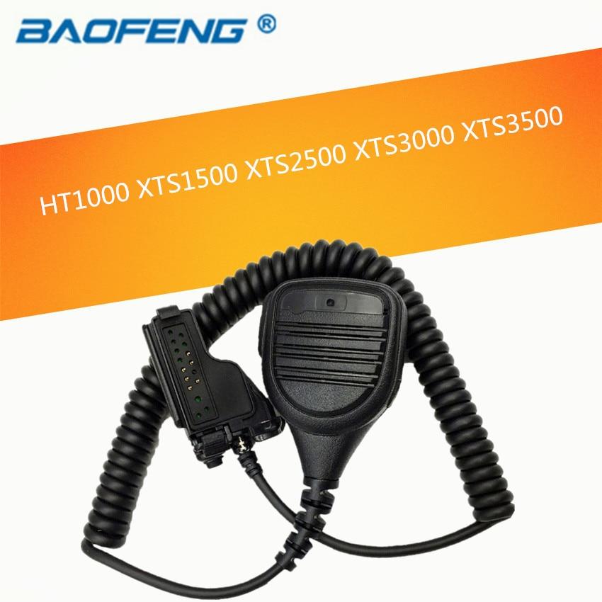 Speaker Microphone For Motorola HT1000 XTS1500 XTS2500 XTS3000 XTS3500  XTS5000