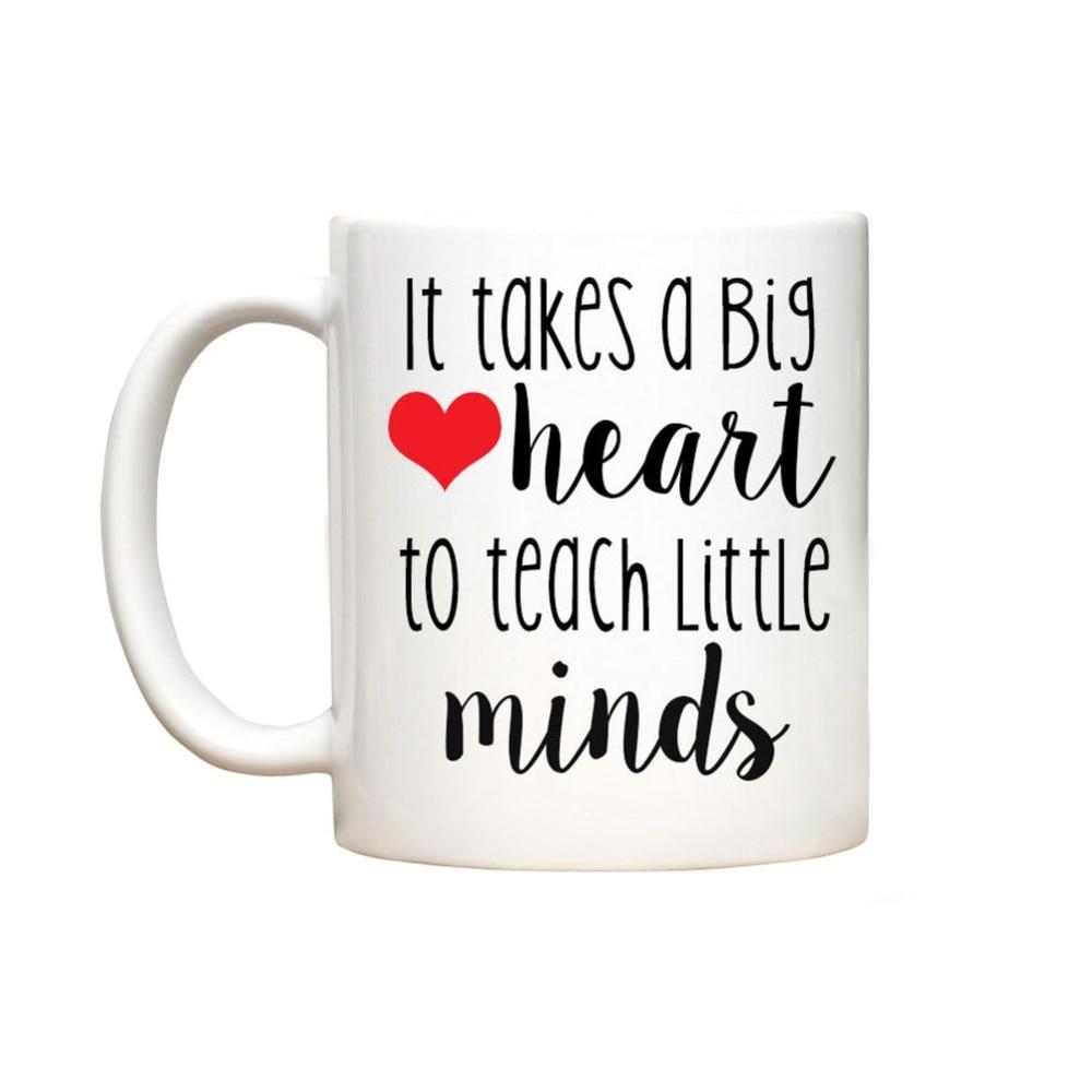 Personalized mugs cheap uk - Teacher Gift Mug Cup Home Decal Procelain Tea Cup Ceramic Coffee Mugs Tea Mugs Beer Friend