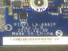 ORDER NEW + FREE SHIPPING  Laptop Motherboard PIQY1 LA-6882P REV : 1.0 for Lenovo Ideapad Y570 Notebook PC