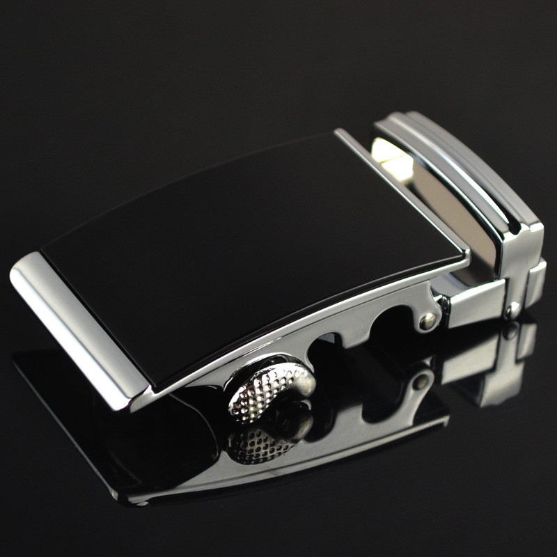 Fashion Men's Business Alloy Automatic Buckle Unique Men Plaque Belt Buckles For 3.5cm Ratchet Men Apparel Accessories LY1576-3