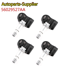 4 Uds 56029527AA alta calidad 433MHZ TPMS sensores de presión de neumáticos para Chrysler 200 300 Dodge Volkswagen