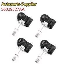 4 pces 56029527aa alta qualidade 433 mhz sensores de pressão dos pneus tpms para chrysler 200 300 dodge volkswagen