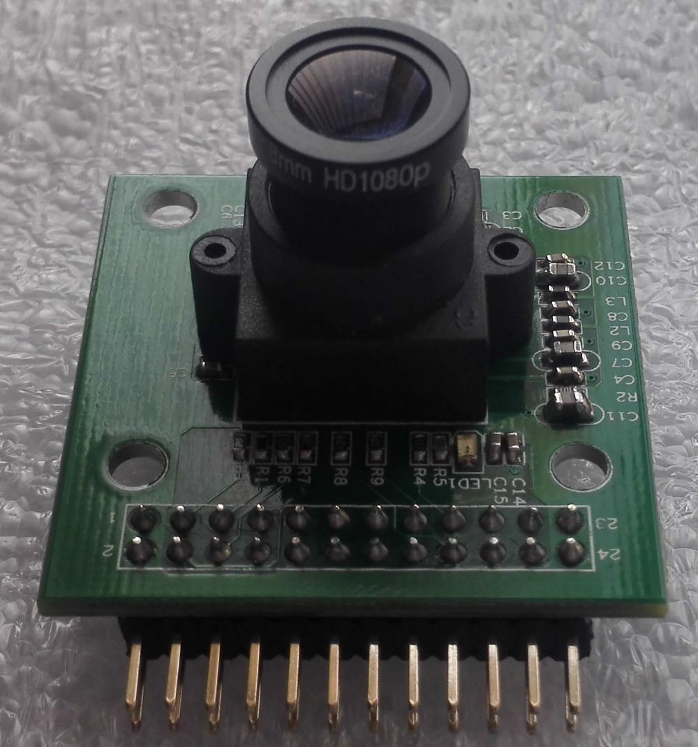 Infrared Night Vision \CMOS Camera, Video Module Module \MT9V034\DSP6748 Development Board