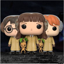 FUNKO POP Movie: Harry Potter - HERMIONE / RON Vinyl Dolls Toys Model Kids Favor Birthday Collectible Gift Official Original Box стоимость