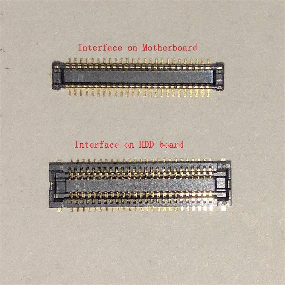 original Interface For ASUS X555LD A555L X555LJ X555LB X555LP X555LN X556U Interface on HDD board and on Mainboard Motherboard x556u usb board for asus x556u x556uj x556ujq x556ub x556ua x555uv laptop dedicated rev 2 0 usb io board tested well