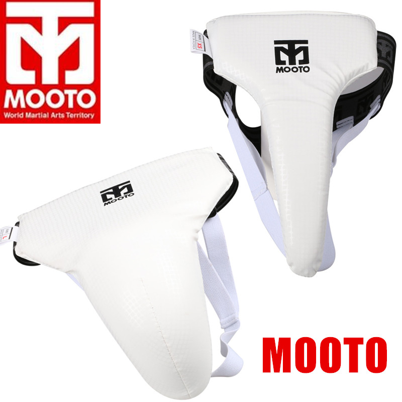 Mooto New Taekwondo Male Groin Protector WTF Approved TKD for men XS to XL
