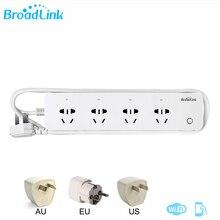 Broadlink MP1 Socket Plug Afstandsbediening Afzonderlijk Regelbare Wifi 4 Stekkerdoos Voor Smart Home Automation