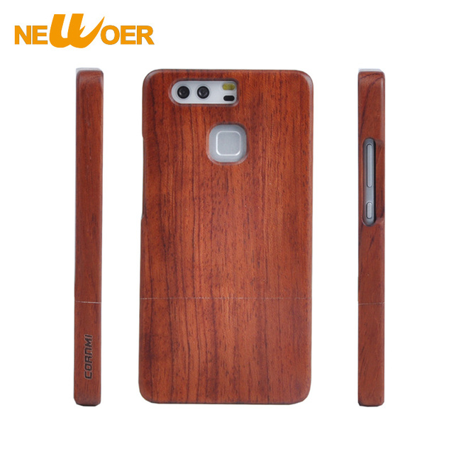 For Huawei P9 Plus Case Rosewood Walnut Wooden Phone Cases Handmade