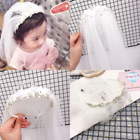 Girls Wedding veil Hair Band Headwear Party Christmas Kids Headband hair Hoop Hair Accessories Fashion Party Wedding accessories