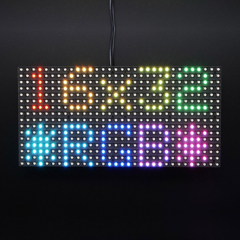 Image 5 - Elecrow 16x32 RGB LED Matrix Panel for Arduino Driver RTC Chip DIY Kit RGB Connector Shield Module Graphic LED RGB Matrix Panel-in LCD Modules from Electronic Components & Supplies