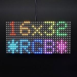 Image 5 - Elecrow 16x32 RGB LED Matrix Panel for Arduino Driver RTC Chip DIY Kit RGB Connector Shield Module Graphic LED RGB Matrix Panel