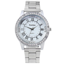 New Luxury Brand Crystal Polygon Mirror Dial Quartz Watch Women Stainless Steel Watches men Relogio Feminino Ladies Wrist Watch