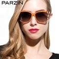 Parzin Polarizado gafas de Sol de Las Mujeres gafas de Sol Femeninas Gafas de Sol De Las Mujeres Gafas De Sol Feminino Tonos Con El Caso 9230