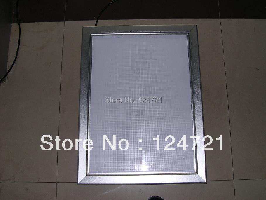 led wall mounted aluminium frame poster led outdoor light box sign