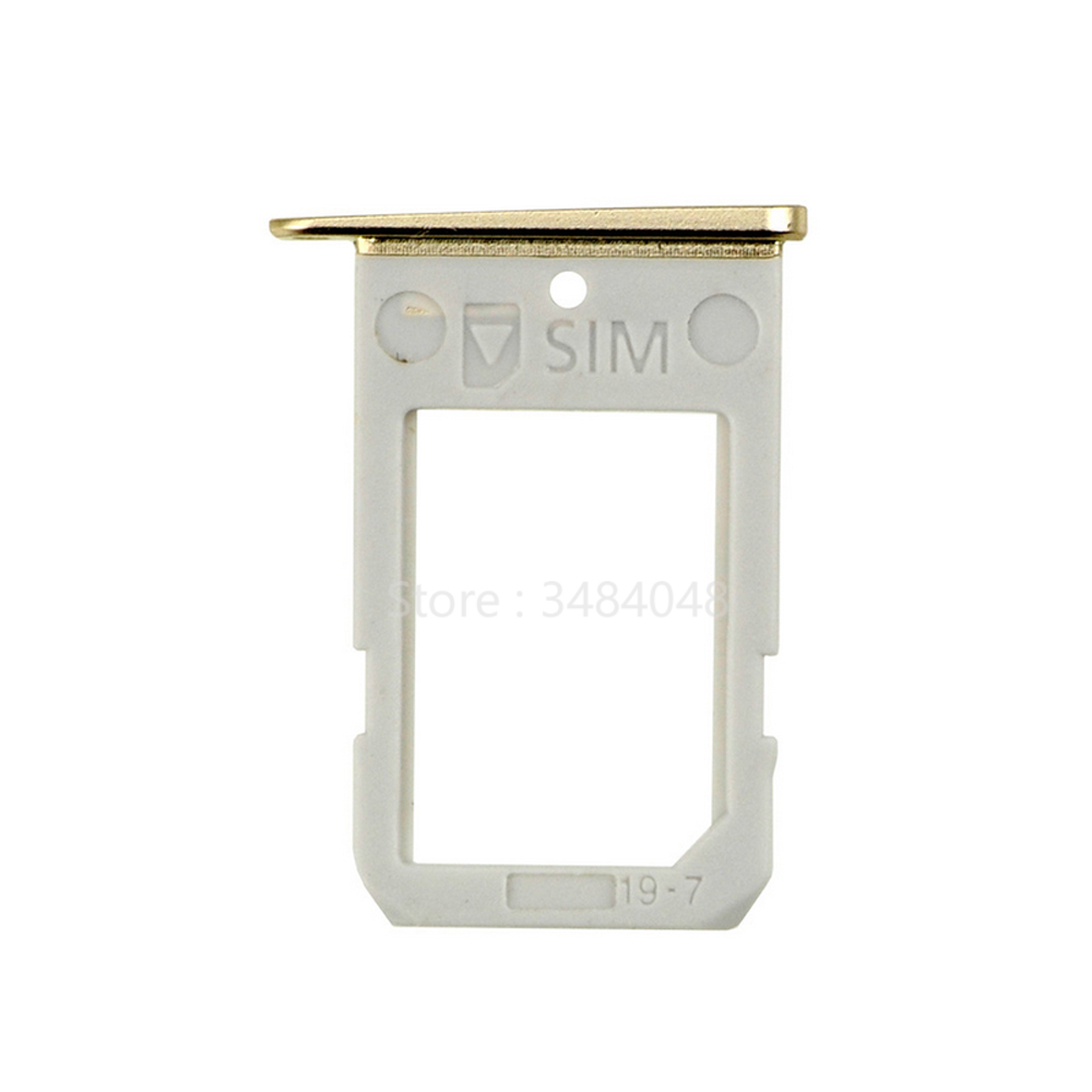10pcs/lot For Samsung Galaxy S6 Edge G925 SIM Card Tray Holder Slot