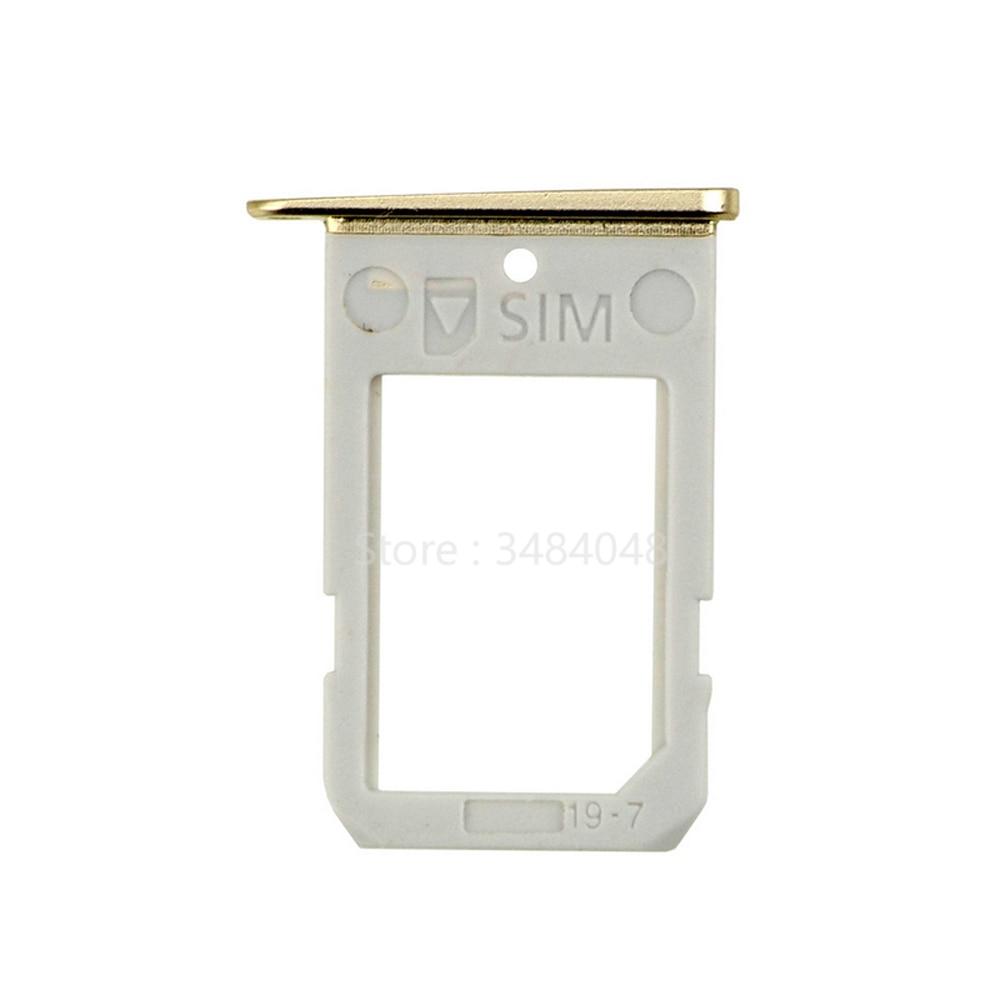 10pcs/lot For Samsung Galaxy S6 Edge G925 SIM Card Tray Holder Slot