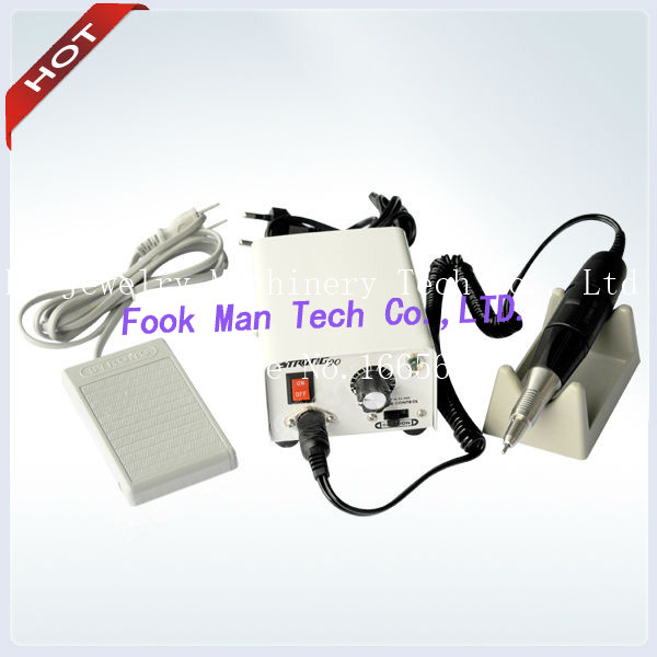 Portable Micromotor Strong for Jewelry or Dental Polishing Electric Motors Strong 90 Micro Motor