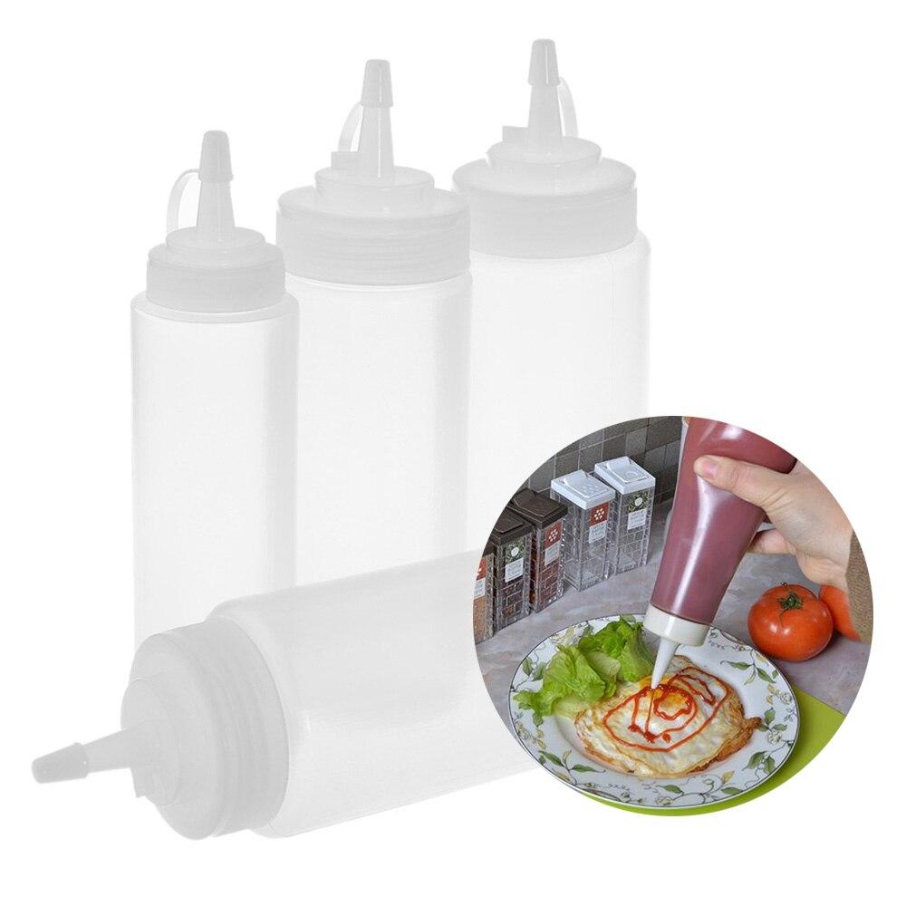 Kitchen Squeeze Bottle Cooking Accessories Mustard Vinegar Salad ...