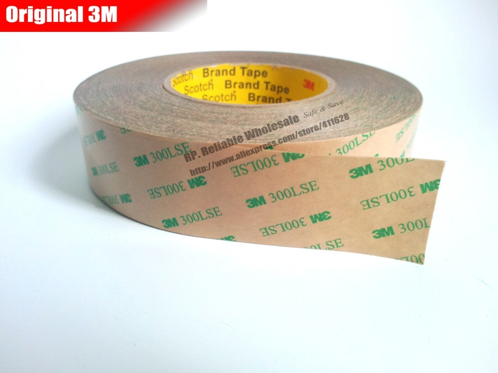 1x 27mm or 28mm 29mm 55 meters High Bond Strength Double Coated Adhsive 3M 300LSE 9495LE