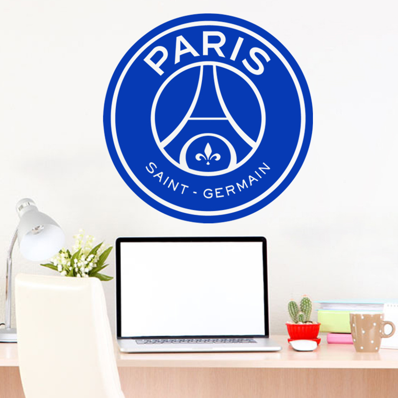Art new design home decor vinyl cheap paris football logo for Home decor logo 99design