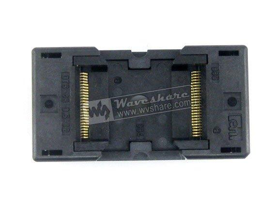 TSOP48 TSOP 48 OTS-48-0.5-12 TSOP48 TSOP 48 Enplas IC Test adaptateur de programmation de prise de rodage 18.4mm largeur 0.5mm pas