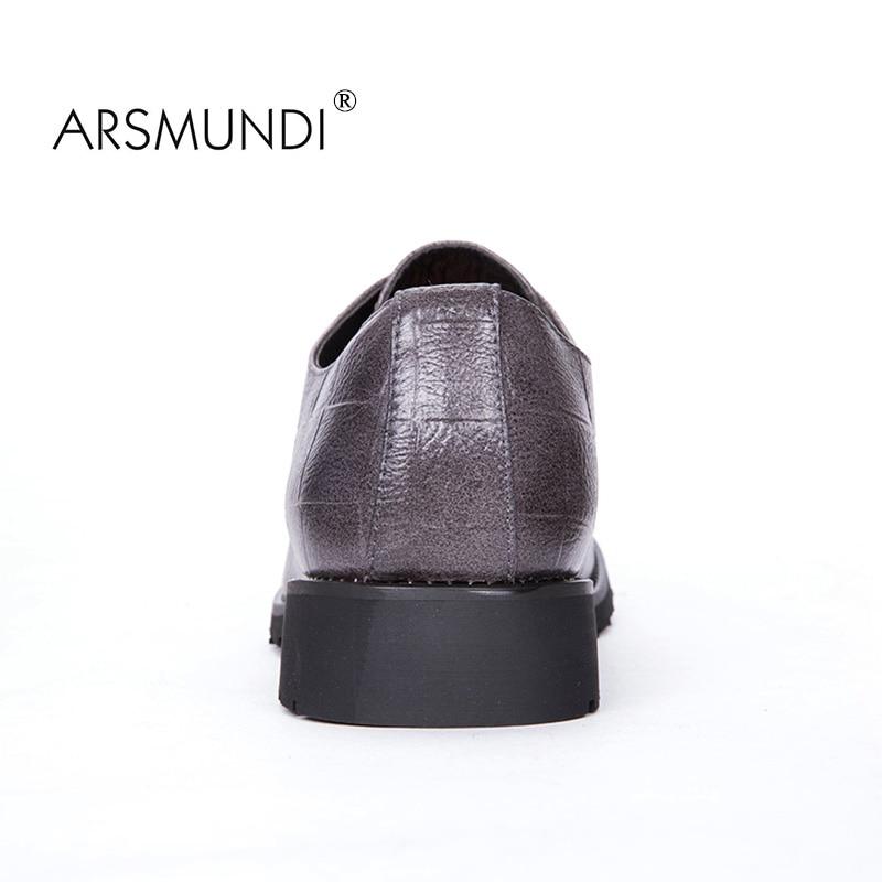 ARSMUNDI Izvorni muškarci Casual Shoes Fall 2017 Crna modna cipela - Muške cipele - Foto 3
