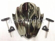 Universal Street Bike for Harley for Yamaha 7/8″ & 1″ Handlebar Mount Motorcycle MT 03 07 09 10 Windshield Windscreen Windscherm