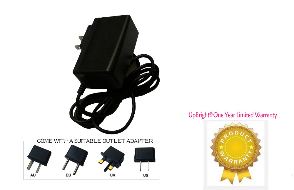 UpBright New AC / DC Adapter For ZyXEL Qwest Centurylink C1000Z DSL Modem  Wireless Router Power Supply Cable Charger Mains PSU
