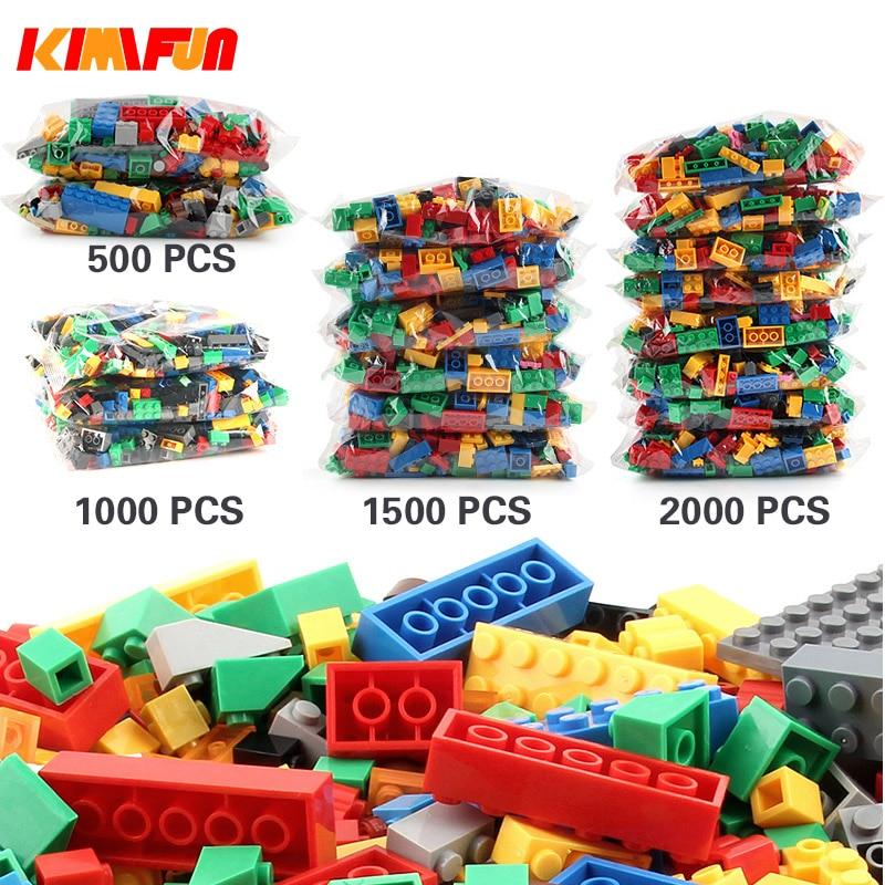 500+Pcs City Building Blocks Sets 2000Pcs DIY Creative Bricks Brick Creator Parts Educational Toys For Children Legoings