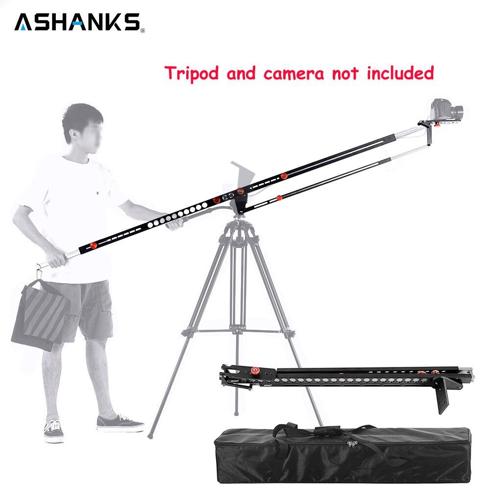 ASHANKS фотография складной поворотный кран алюминиевый Pro портативный Fotografica DSLR видео стрела рука камера кран машина с сумкой для переноски